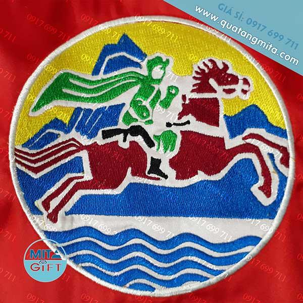 Thêu logo biên phòng