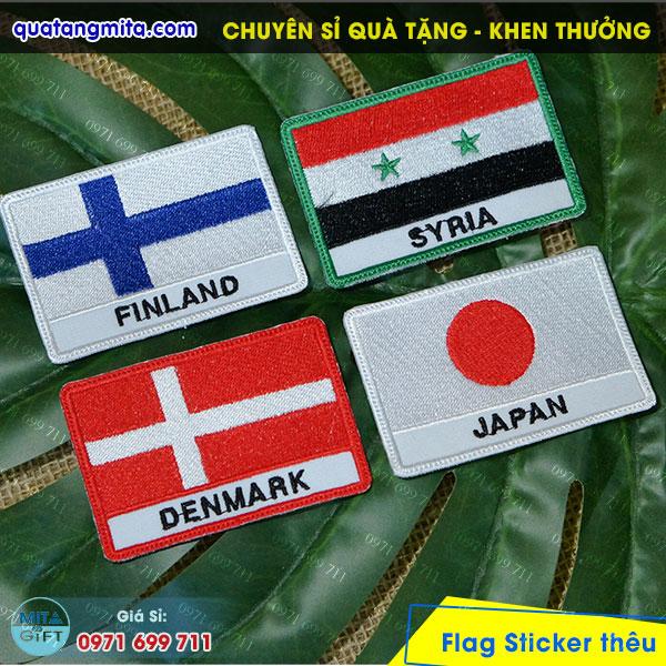 Thêu Sticker tại Cần Thơ