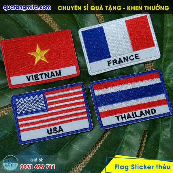 Patch cờ các nước tại Cần Thơ
