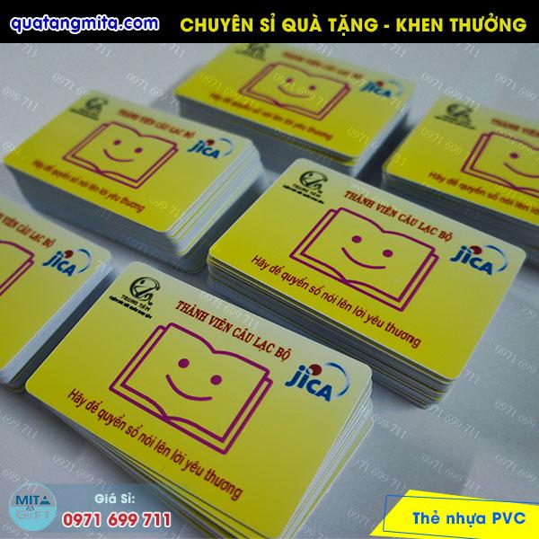 Thẻ nhựa thành viên CLB Cần Thơ