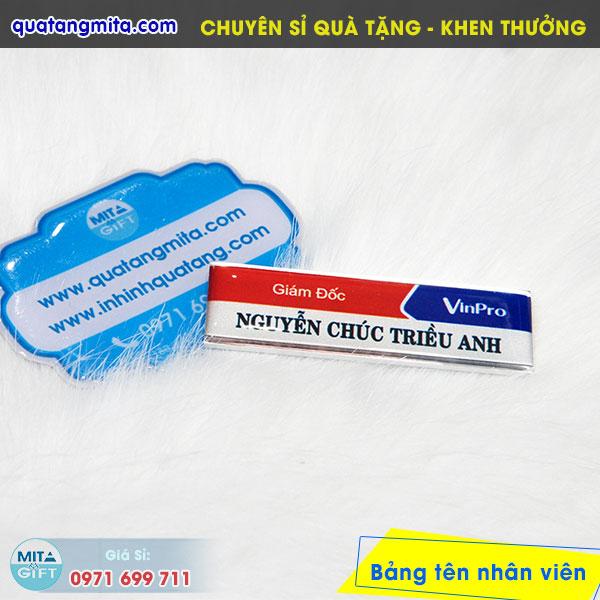 Bảng tên VinPro Cần Thơ