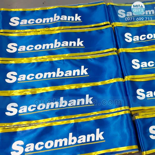 Băng đeo Sacombank Cần Thơ