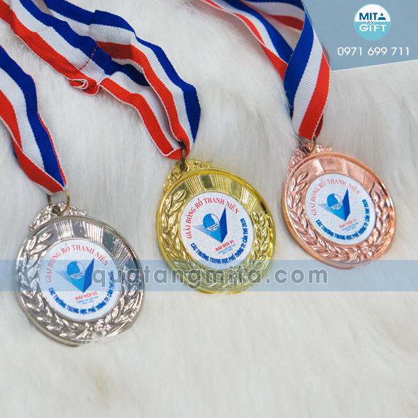 Huy chương giải bóng rổ Thanh niên